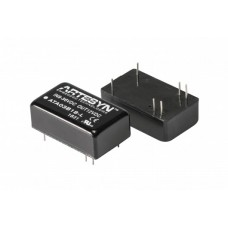 "ATA series 10 Watt Isolated DCDC converters Series Artesyn 0.94"" x 0.54"" (24 x 13.7 mm)"